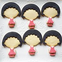 樱桃小丸子翻糖饼干的做法图解26