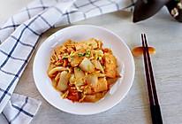 #快手又营养,我家的冬日必备菜品#白菜西红柿烧豆腐的做法