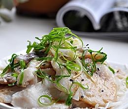 葱油鱼片的做法