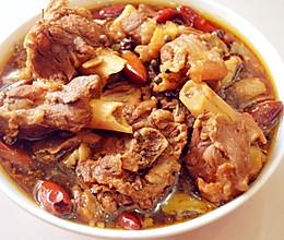 黄焖羊肉#给老爸做道菜#的做法