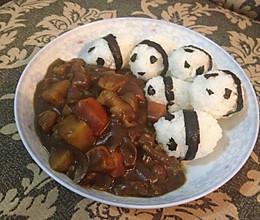 咖喱饭——熊猫吃屎的做法
