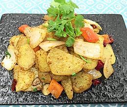 孜然洋葱土豆片的做法