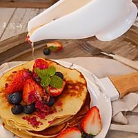 养颜好滋味-玫瑰蜂蜜松饼#洁柔食刻,纸为爱下厨#的做法图解11