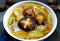 双菇丝瓜汤的做法
