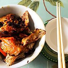#春季食材大比拼#小姨妈豆豉三文鱼头