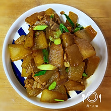 冬瓜炒肉-太好吃了