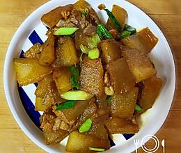 冬瓜炒肉-太好吃了的做法