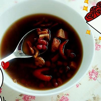 月子红豆汤