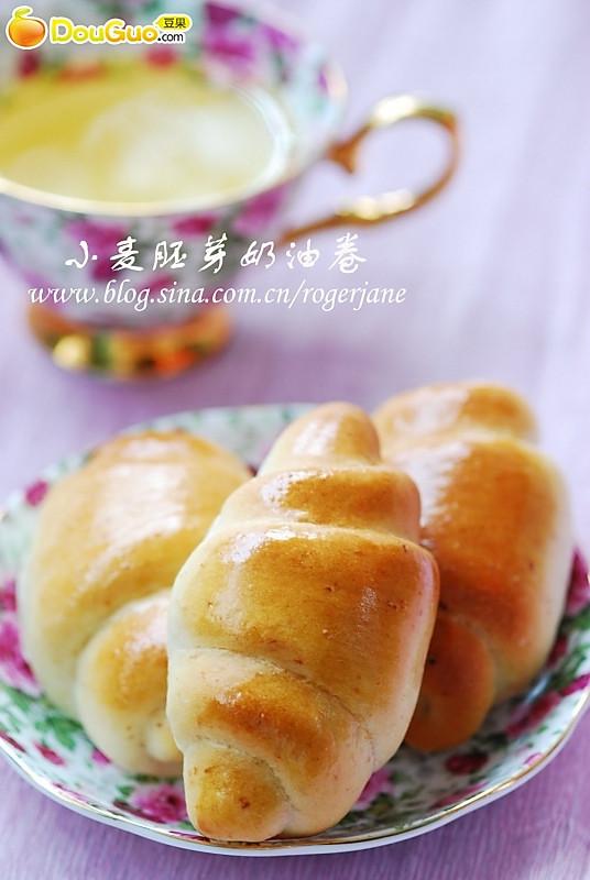 小麦胚芽奶油卷的做法