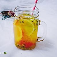 西柚百香果柠檬茶的做法图解14