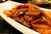 韩式拌鸡胗的做法