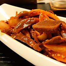 韩式拌鸡胗