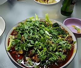 香辣牛肉锅的做法