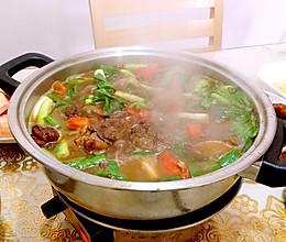 羊肉火锅的做法
