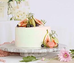 无花果炼乳奶油蛋糕的做法