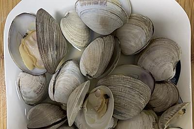 忠于鲜甜:清蒸美国蛤