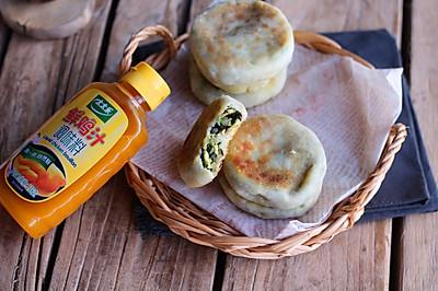 素三鲜馅饼#太太乐鲜鸡汁中式#