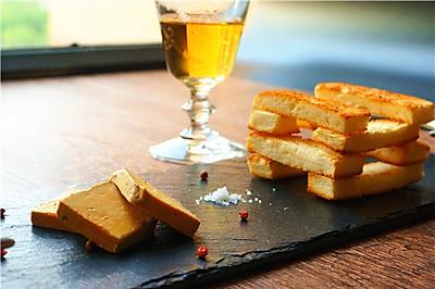 法式鹅肝酱配黄油面包#一起吃西餐#