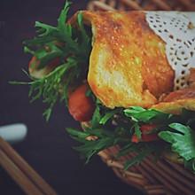 #童年不同样,美食有花样#鸡蛋灌饼