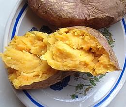 微波炉版烤红薯的做法