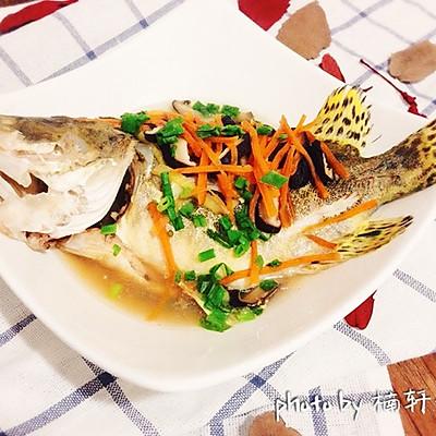 清蒸小桂鱼