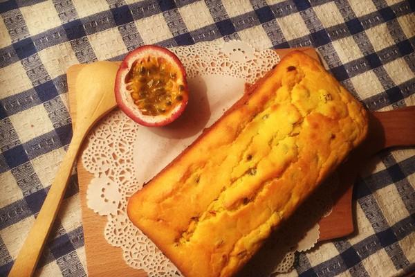 百香果磅蛋糕~美味不失败~的做法