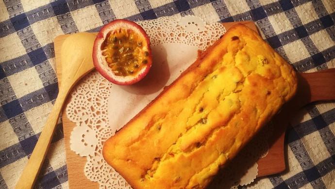 百香果磅蛋糕~美味不失败~
