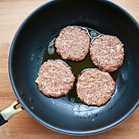 洋葱猪肉堡#美的烤箱菜谱#的做法图解5