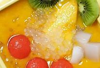 芒果西米捞的做法