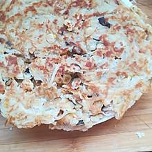 肉泥玉米香菇土豆饼