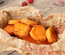 香烤红薯 宝宝辅食的做法