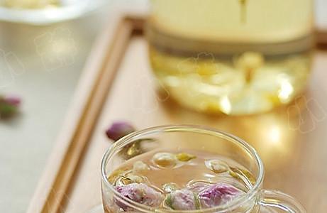茉莉玫瑰花茶的做法