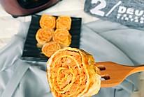营养好吃的猪肉胡萝卜鸡蛋卷的做法