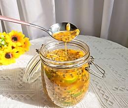 自制百香果蜂蜜柠檬汁的做法