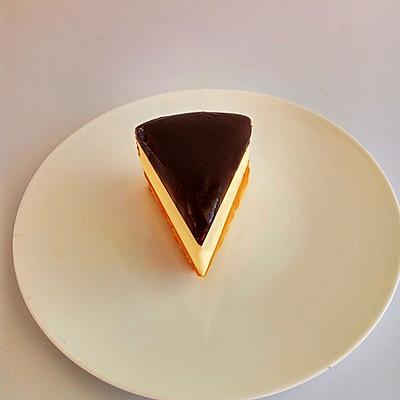 巧克力杏仁重乳酪蛋糕