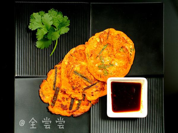 【韩国美食】—泡菜煎饼的做法