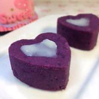 【奶香紫薯泥】的做法图解5