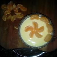 蜜糖橘子布丁的做法图解8