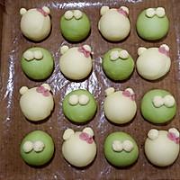 青蛙凯蒂挤挤包(一次发酵)#网红美食我来做#的做法图解23