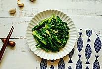 蒜蓉油麦菜#花10分钟,做一道菜!#的做法