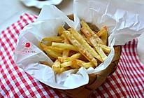 空气炸锅版少油炸薯条的做法