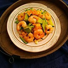 虾仁鸡蛋炒黄瓜