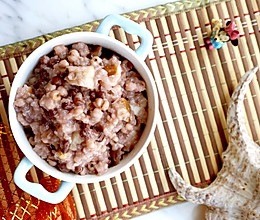 #下饭红烧菜# 菱角红豆薏苡糯米饭的做法
