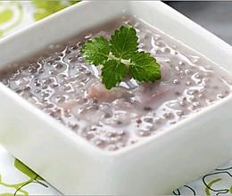 泰式椰汁香芋西米露的做法