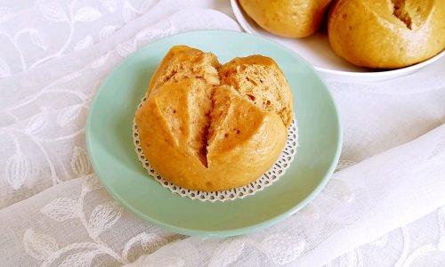 红糖麦片开花馒头#KitchenAid的美食故事#的做法