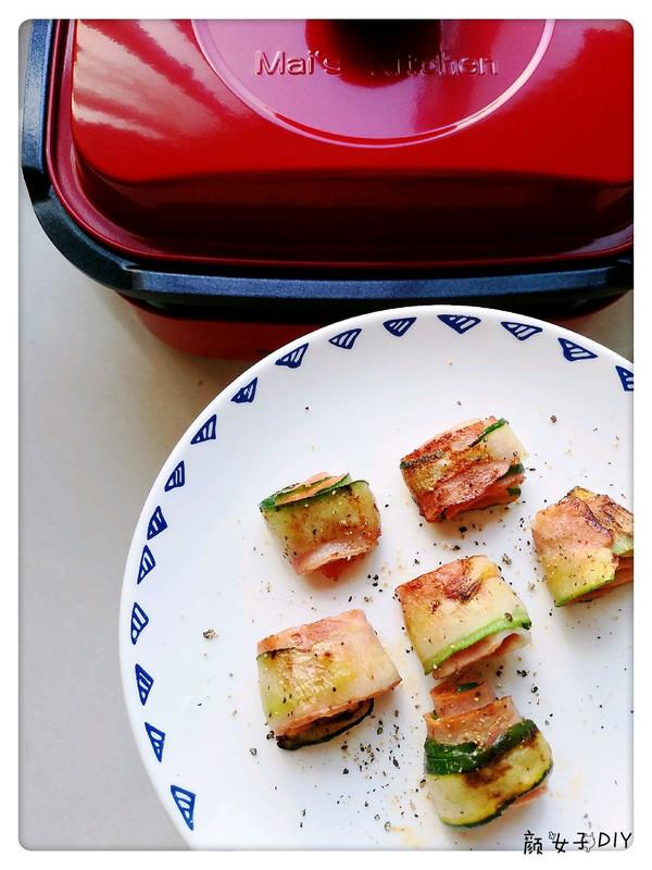 美食锅之黄瓜培根卷的做法