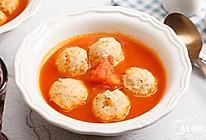 番茄烩鸡肉丸的做法