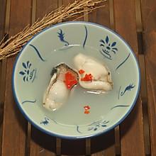米汤浸生蚝