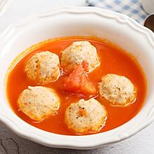 番茄烩鸡肉丸