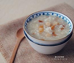 山药虾米粥的做法